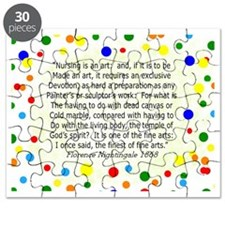 nursing student FG blanket Polka Puzzle