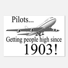 Jet Getting high since 19 Postcards (Package of 8)