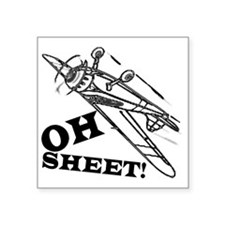 "OhSheet Square Sticker 3"" x 3"""