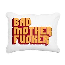 Bad Mother Fucker Rectangular Canvas Pillow
