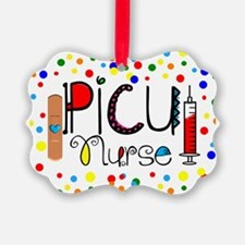 PICU Nurse Pillow Ornament