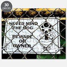 Beware of owner Puzzle