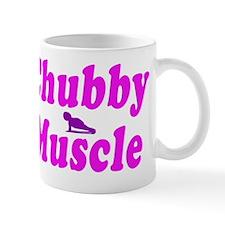 chubby muscle pink Mug