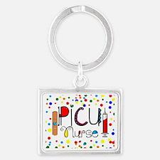 PICU Nurse Pillow Landscape Keychain