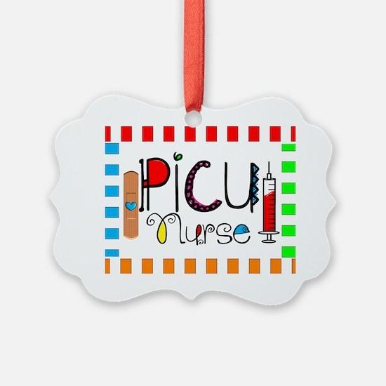 PICU Nurse Blanket Ornament