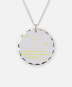 Mythbusters Science Quote (y Necklace