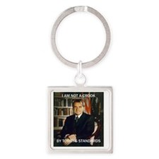 i am not a crook Square Keychain