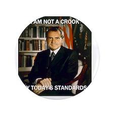 """i am not a crook 3.5"""" Button"""