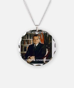 i am not a crook Necklace