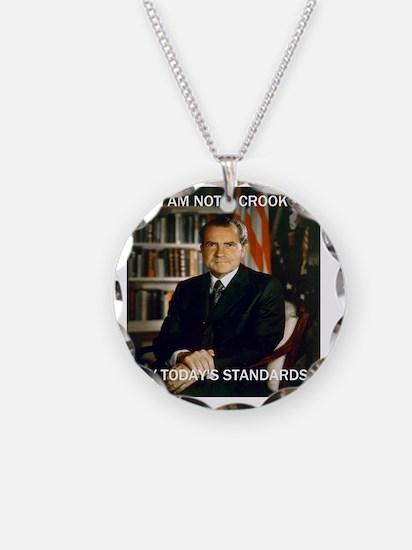i am not a crook Necklace