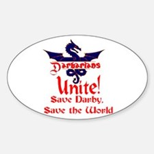 Save Darby Oval Decal