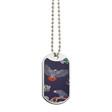 Tropical African Paradise Dog Tags