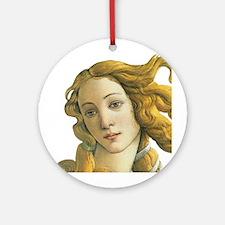 Goddess Venus Ornament (Round)