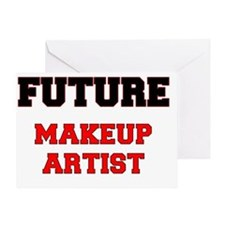 Future Makeup Artist Greeting Card