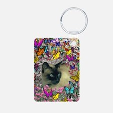 Curtains-4464wx6192h Keychains