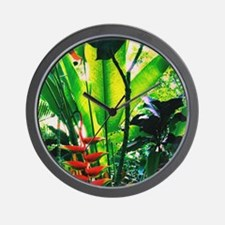 Tropical 2 Wall Clock