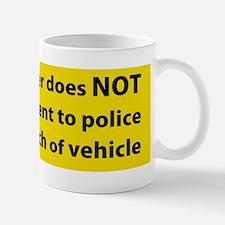 No Consent Mug