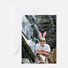 BABunny Geoff Greeting Card