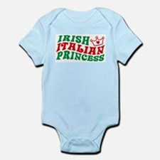 Irish Italian Princess Infant Bodysuit