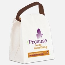iPromise to do something with but Canvas Lunch Bag