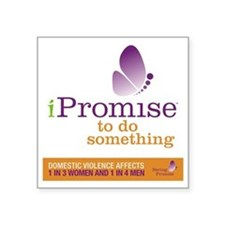 """iPromise to do something wi Square Sticker 3"""" x 3"""""""