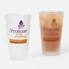 iPromise to do something with butte Drinking Glass