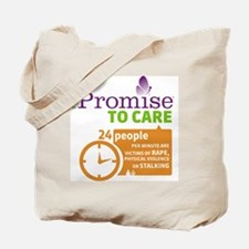 iPromise To Care Tote Bag