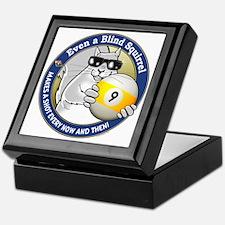 9-Ball Blind Squirrel Keepsake Box