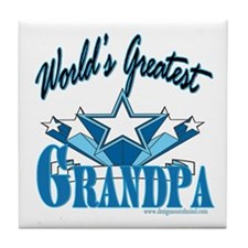 Greatest Grandpa Tile Coaster