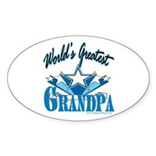 Greatest Grandpa Oval Decal