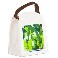 Paint by Cat Canvas Lunch Bag