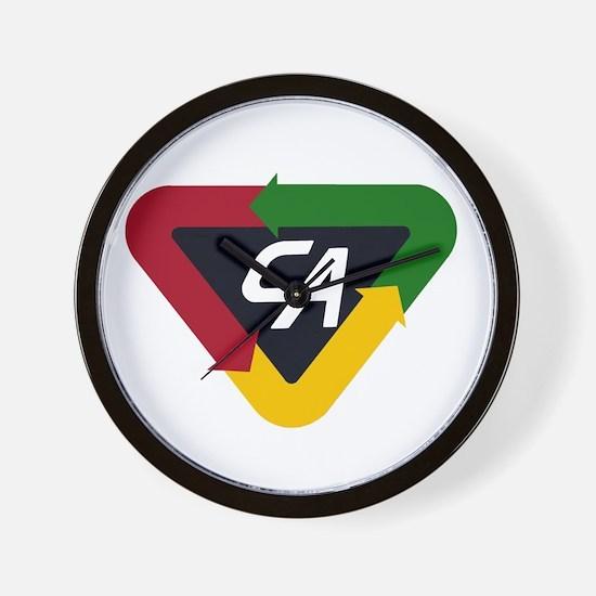 CA Logo Wall Clock
