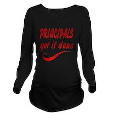 Principals Long Sleeve Maternity T-Shirt