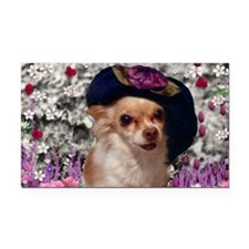 Chi Chi the Chihuahua in Flow Rectangle Car Magnet