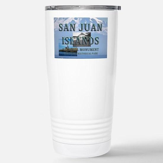 sanjuanislands1a Stainless Steel Travel Mug