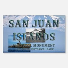 sanjuanislands1a Sticker (Rectangle)