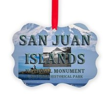 sanjuanislands1a Picture Ornament