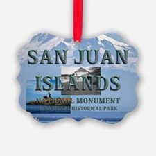 sanjuanislands1a Picture Ornament