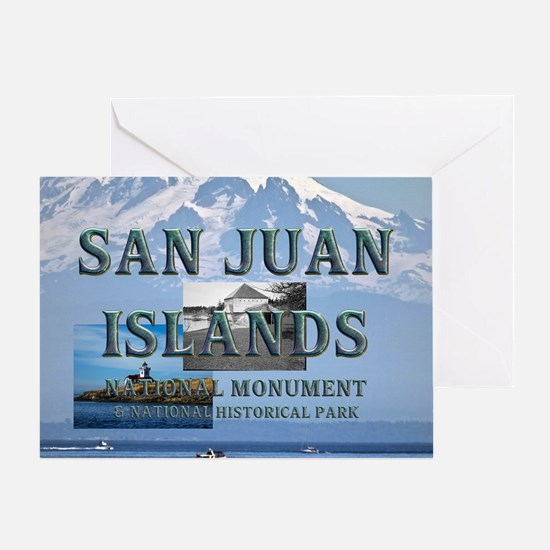 sanjuanislands1a Greeting Card