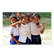 School Children Postcards (Package of 8)