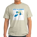 It's a Boy Stork Light T-Shirt