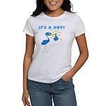 It's a Boy Stork Women's T-Shirt