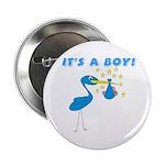 It's a Boy Stork Button