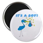 It's a Boy Stork Magnet