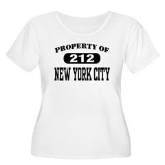 Property of 212 New York City T-Shirt