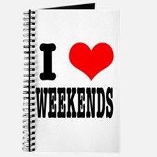 I Heart (Love) Weekends Journal