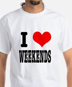 I Heart (Love) Weekends Shirt
