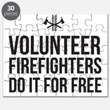 Volunteer Firefighters Do it for Free Puzzle