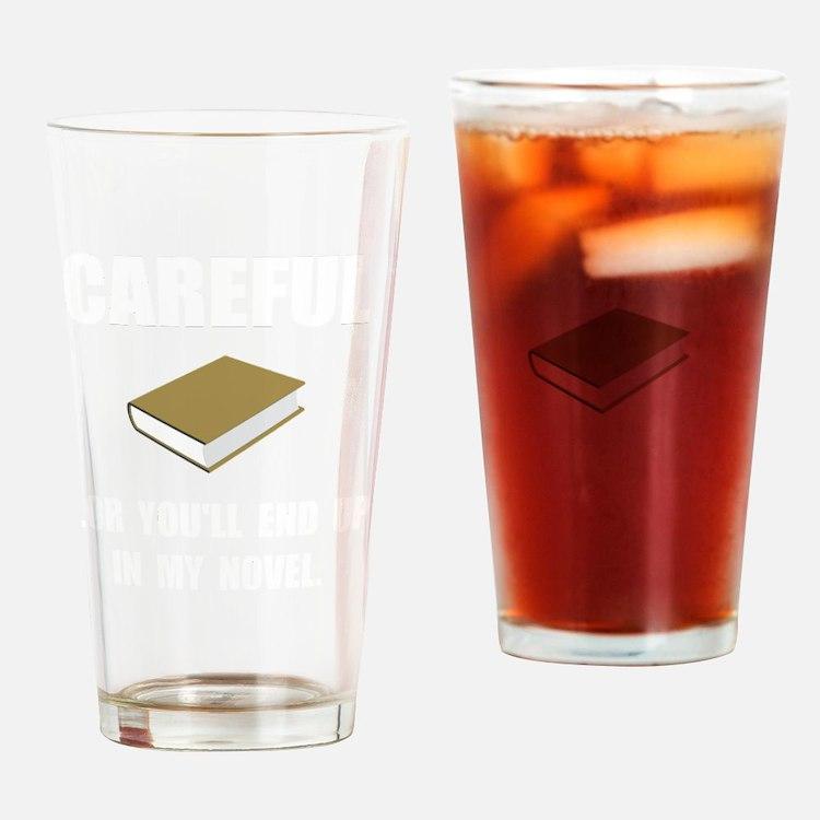 Careful Novel Drinking Glass