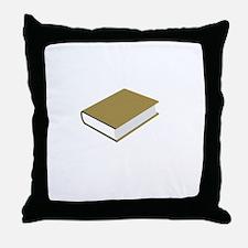 Careful Novel Throw Pillow